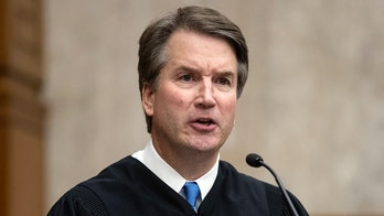 In this Aug. 7, 2018, photo, President Donald Trump's Supreme Court nominee, Judge Brett Kavanaugh, officiates at the swearing-in of Judge Britt Grant to take a seat on the U.S. Court of Appeals for the Eleventh Circuit at the U.S. District Courthouse in Washington. Kavanaugh has expressed concern about federal agencies running amok. But his view that they should adhere strictly to laws passed by Congress worries liberals.  (AP Photo/J. Scott Applewhite)