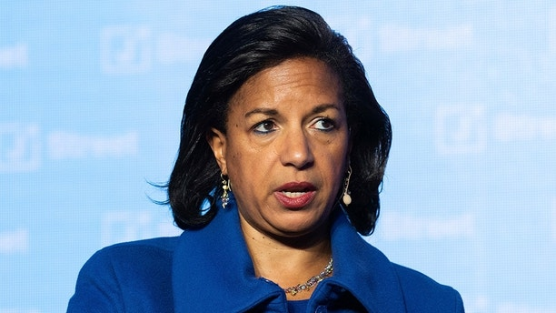 Ambassador Susan Rice, former National Security Advisor to President Barack Obama, speaking at the J Street National Conference in Washington, DC on April 16, 2018 (Photo by Michael Brochstein/Sipa USA)(Sipa via AP Images)