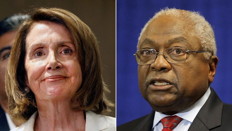 Rep. Jim Clyburn, D-S.C., confirmed his intention to run for House Speaker should Democratic Leader Nancy Pelosi, D-Calif., fall short of 218 votes necessary to secure the post.