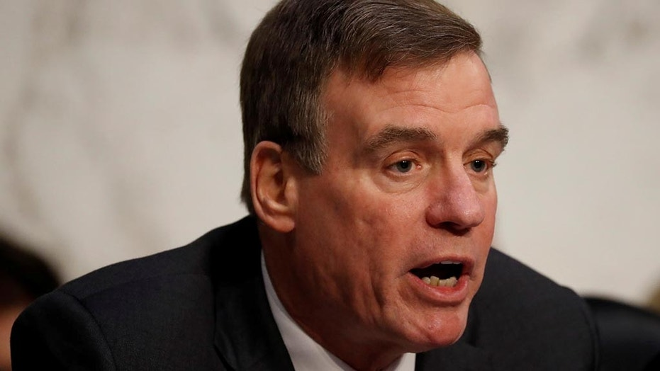 """Virginia Democratic Sen. Mark Warner on Friday said he plans to present an amendment preventing President Trump from """"arbitrarily revoking security clearances."""""""
