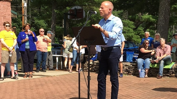 """Michael Avenatti took aim at President Donald Trump and called on Democrats to """"fight fire with fire"""" as he headlined a Democratic Party event in the state that holds the first primary in the race for the White House. Photo by FOX news"""