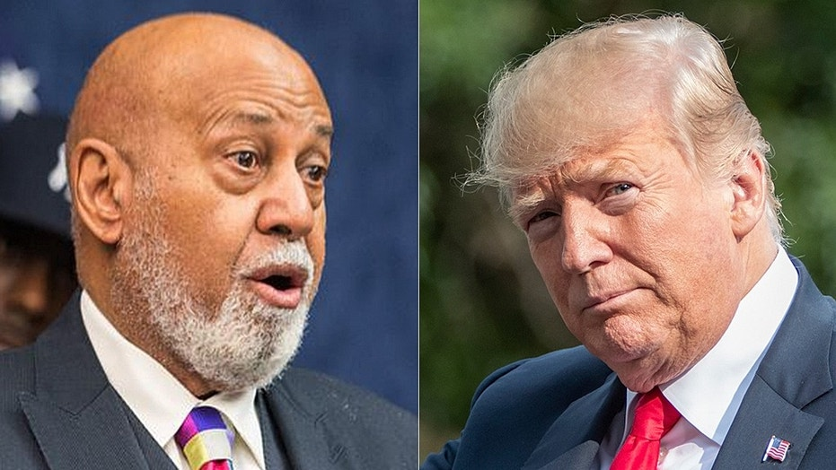Rep. Alcee Hastings joked over the weekend about President Trump drowning.