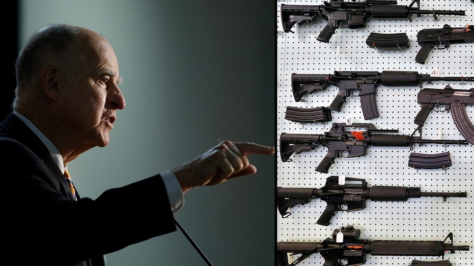 California Gov. Jerry Brown will decide on AB2888, a proposal to allow co-workers and school officials seek restraining orders against weapons owners who are perceived to pose a threat.