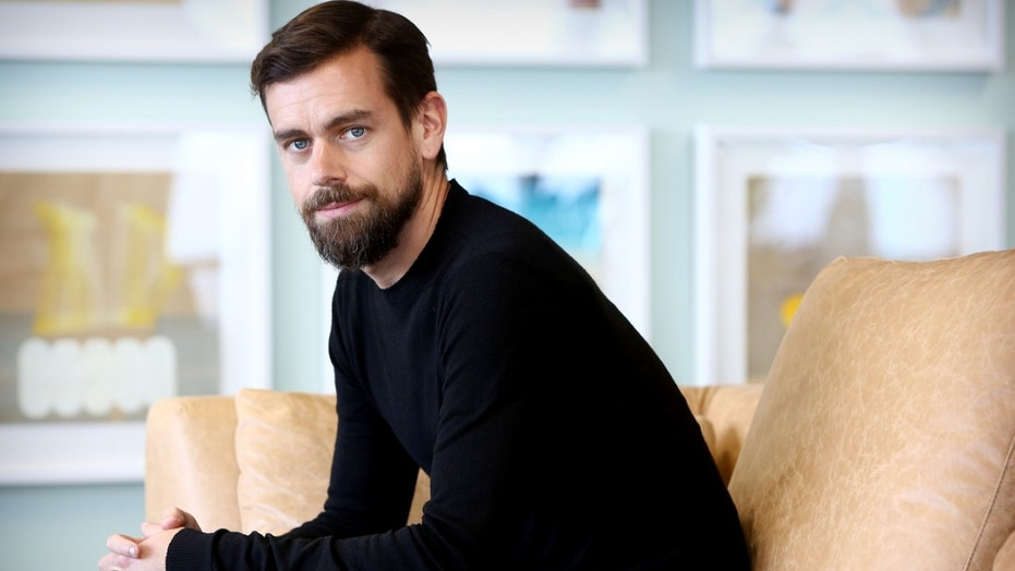 Twitter CEO Jack Dorsey poses during a photo shoot in Sydney, New South Wales.