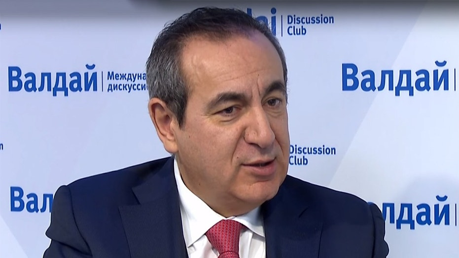 Professor Joseph Mifsud is seen prior a 2010 news conference in Vienna. Now, lawyers for the Democratic National Committee say it is possible Mifsud is dead.