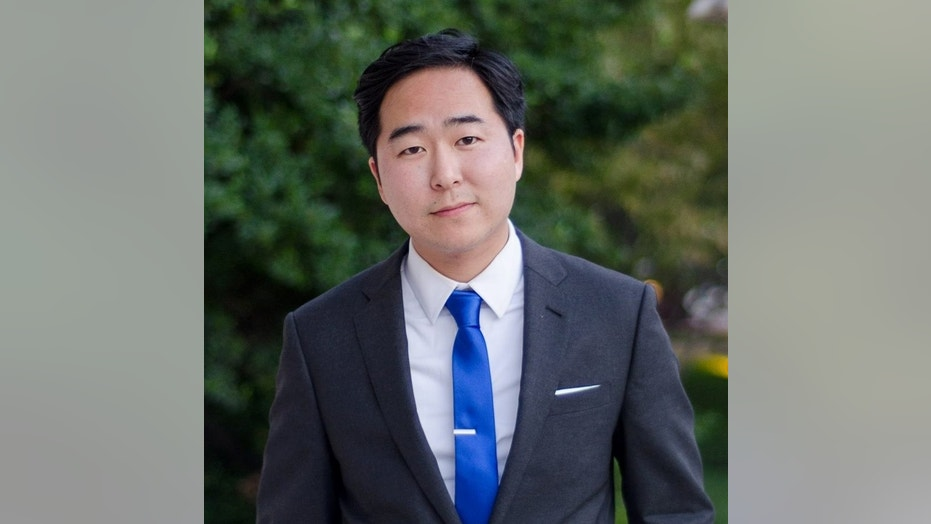 Democrat Andy Kim running in a tight New Jersey's 3rd Congressional District race has exaggerated his resume, claiming he worked under a Republican president as a national security officer while actually being an entry-level civil servant.