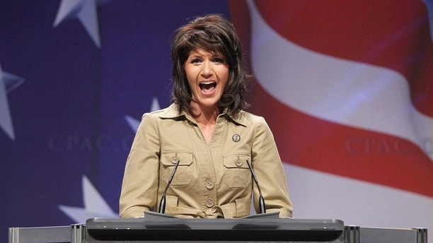 U.S. Representative Kristi Noem (R-SD) addresses the 38th annual Conservative Political Action Conference (CPAC) meeting at the Marriott Wardman Park Hotel in Washington, February 10, 2011. The CPAC is a project of the American Conservative Union Foundation.