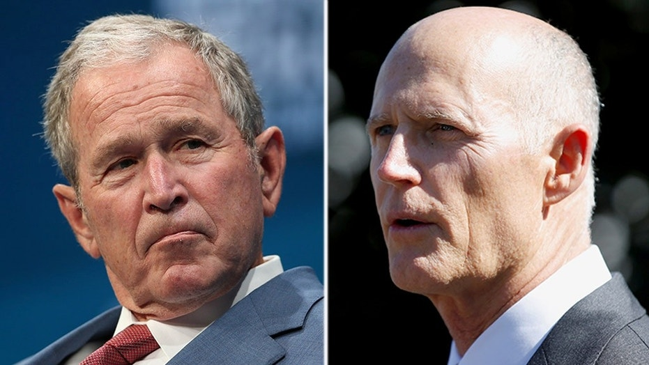 Former President George W. Bush will help raise money for Gov. Rick Scott's bid to oust Democratic Sen. Bill Nelson in a closely watched and expensive campaign.