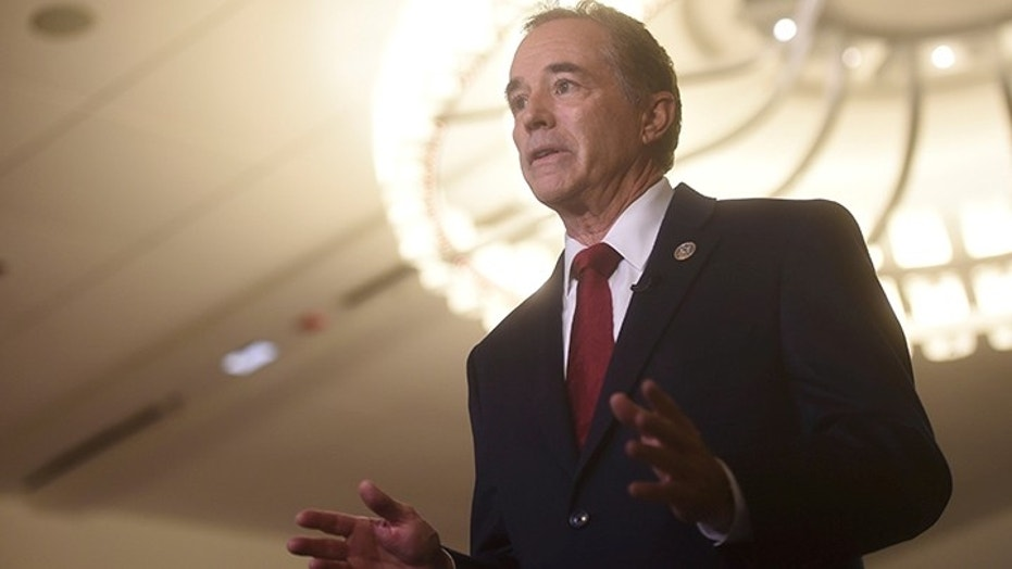Rep. Chris Collins, R-N.Y., was indicted on federal insider trading charges last month.