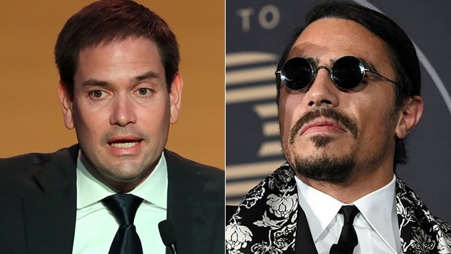 Sen. Marco Rubio blasted Salt Bae after the chef appeared in a video with Nicolas Maduro.