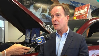 "FILE - In this july 31, 2018, file photo, Michigan Attorney General Bill Schuette, a Republican candidate for governor, speaks during a campaign stop at LaFontaine Chrysler Dodge Jeep Ram FIAT of Lansing, Mich. Schuette said Wednesday, Sept. 12, 2018, that Michigan's expansion of Medicaid coverage to hundreds of thousands of adults is not ""going anywhere"" if he is elected governor and he would focus instead on implementing work requirements enacted earlier this year. (AP Photo/David Eggert, File)"