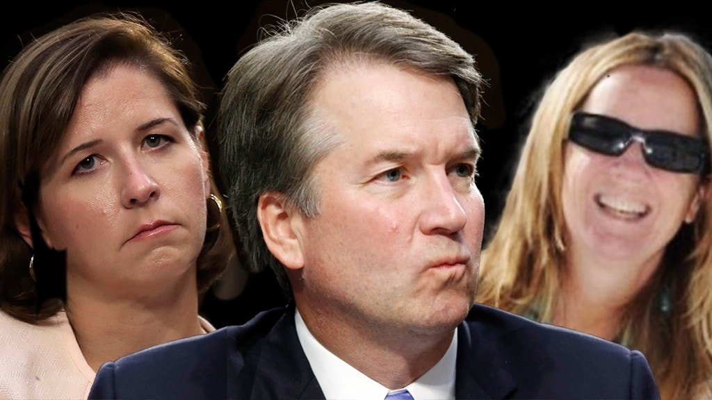 Brett Kavanaugh, wife and Christine Blasey Ford all