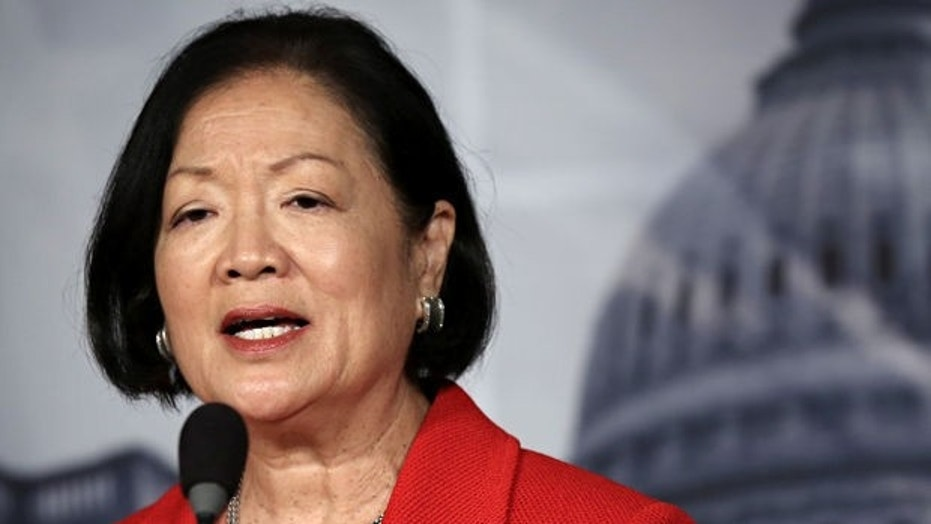 Sen. Mazie Hirono, D-HI, said Sunday she plans to question Brett Kavanaugh about 'drinking and partying'