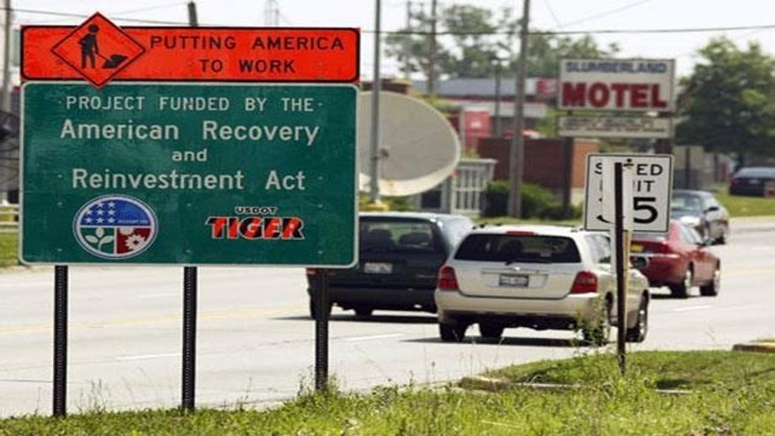 States Spend Thousands on Recovery Act Signs