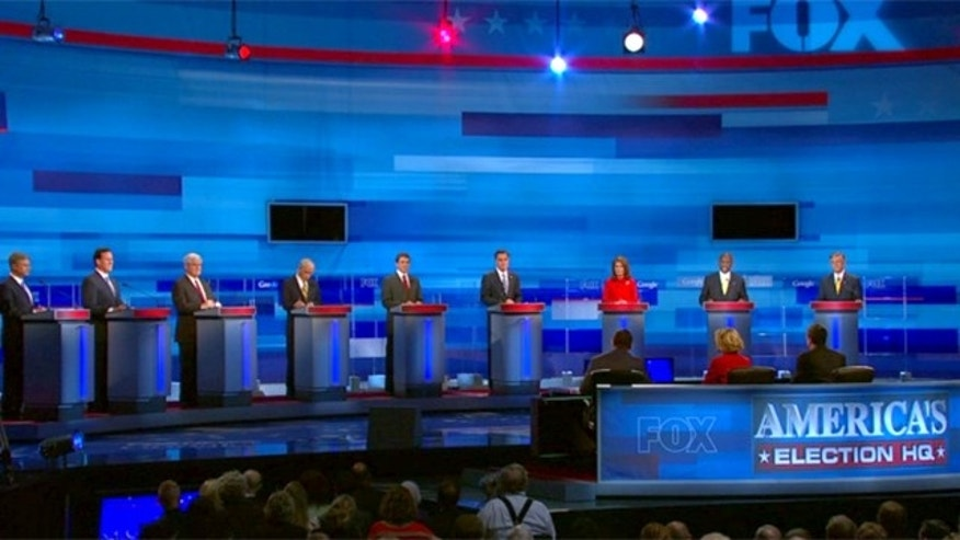 Fox News-Google GOP 2012 Debate