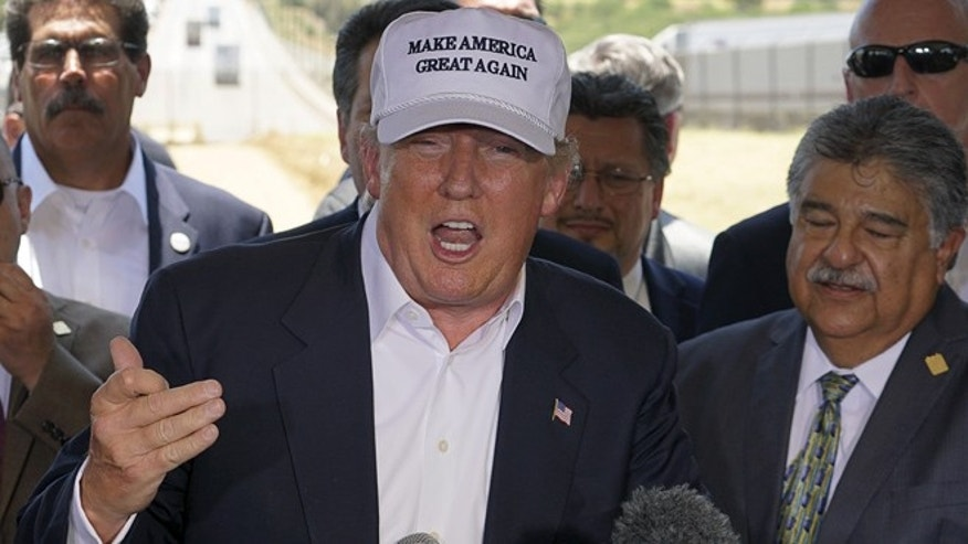 Donald Trump's 'Make America Great Again' cap can be yours to own. (Reuters)