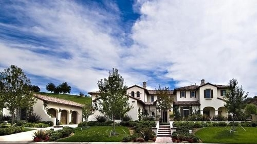 Justin Bieber bought this home in Calabasas.