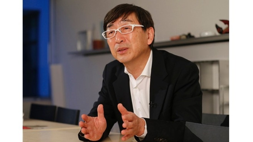 Toyo Ito, the Japanese architect awarded the 2013 Pritzker Architecture Prize, speaks during an interview with The Associated Press at one of his offices in Tokyo Monday, March 18, 2013.