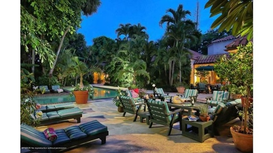 Lilly Pulitzer's tropical estate