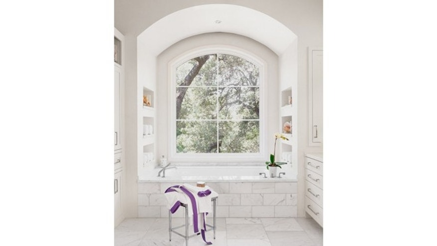 13 all white bathrooms with clean and classic style fox news for All white bathroom designs