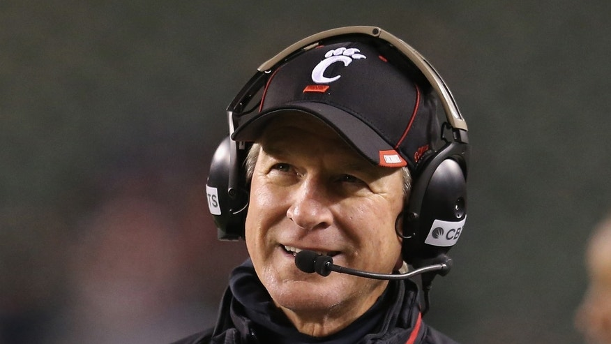Tommy Tuberville, currently head coach of the Cincinnati Bearcats