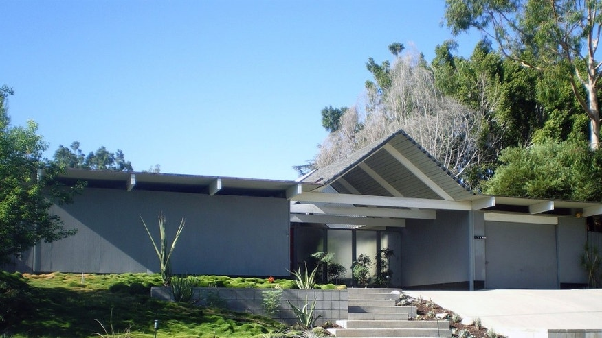 Eichler Home -- Foster Residence, Granada Hills in Los Angeles, CA.
