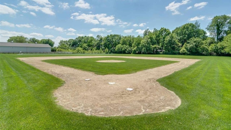 Your personal baseball field.