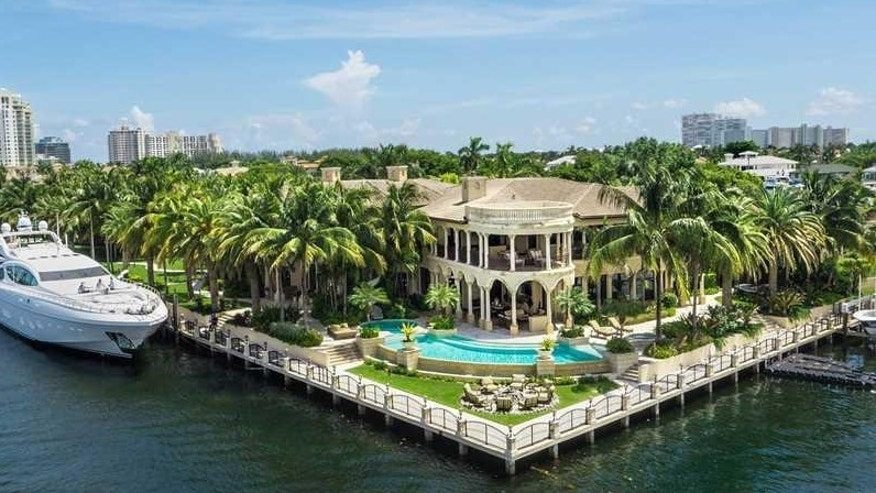 David Stern's $32 million mega mansion.