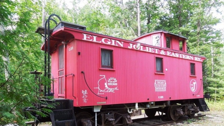 Caboose house