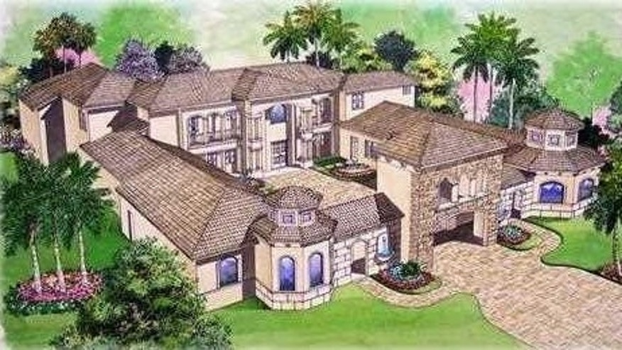 A rendering of the home.