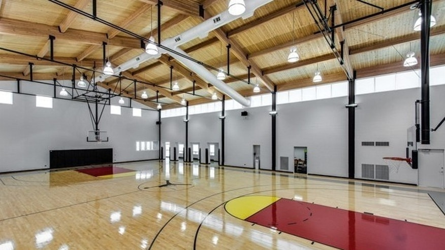 Michael Jordan's Basketball court