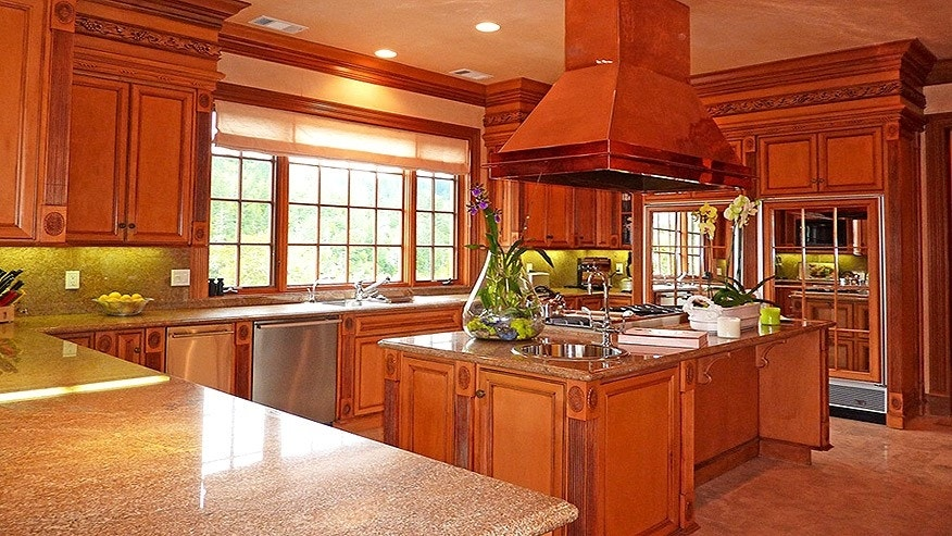 """""""We have a full kitchen, both inside and outside, which is one of my favorite features,"""" said owner Perry Butler."""