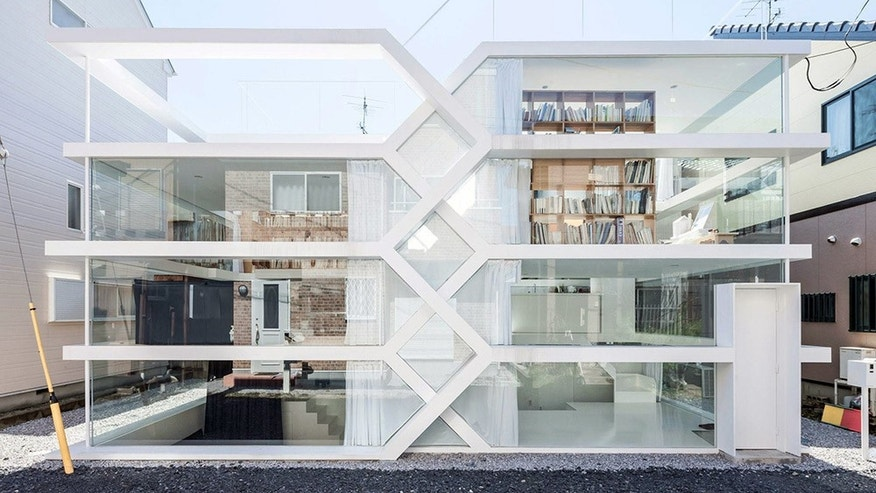 S-House in Saitama, Japan