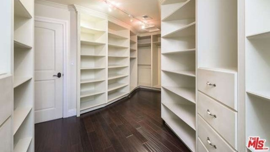 The massive closet
