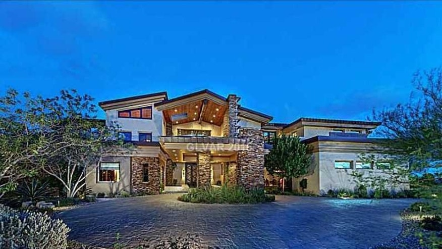 Exterior of Andy Bloch's home in Las Vegas