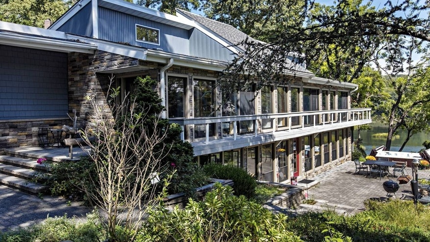 Mick Foley and his wife bought this 1.2-acre riverfront home in Long Island near the end of his in-ring career.