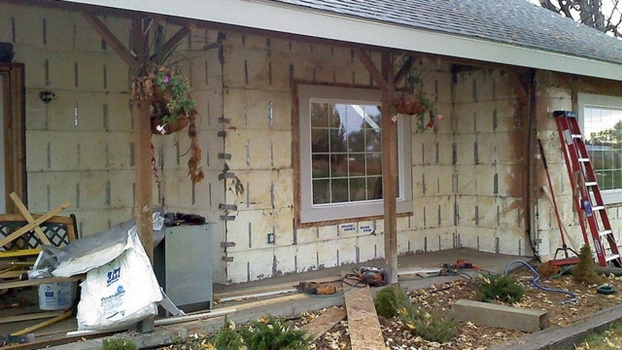 Which is worse: ugly siding or no siding?