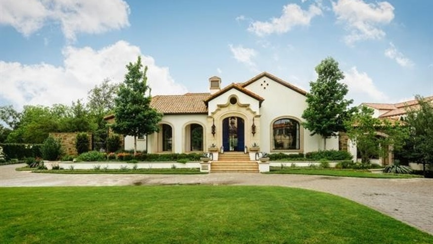 Spieth's new Dallas home.