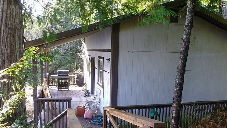 One of the three cabins