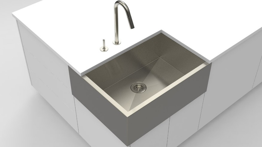 Are sinks better in the corner?