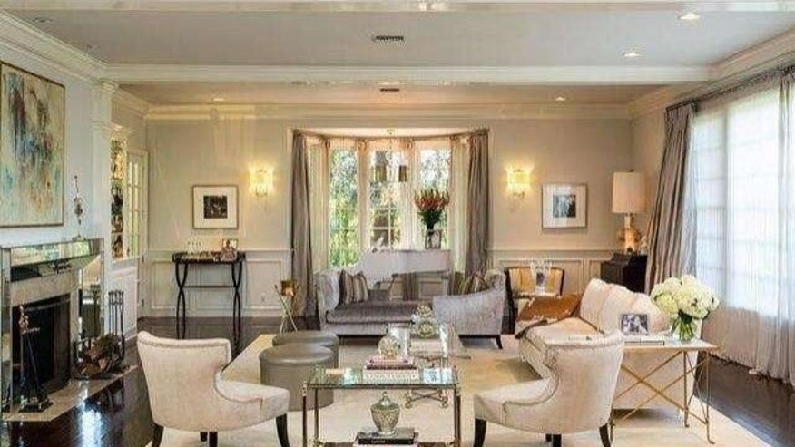 J-Lo's home has both a formal and informal living room.