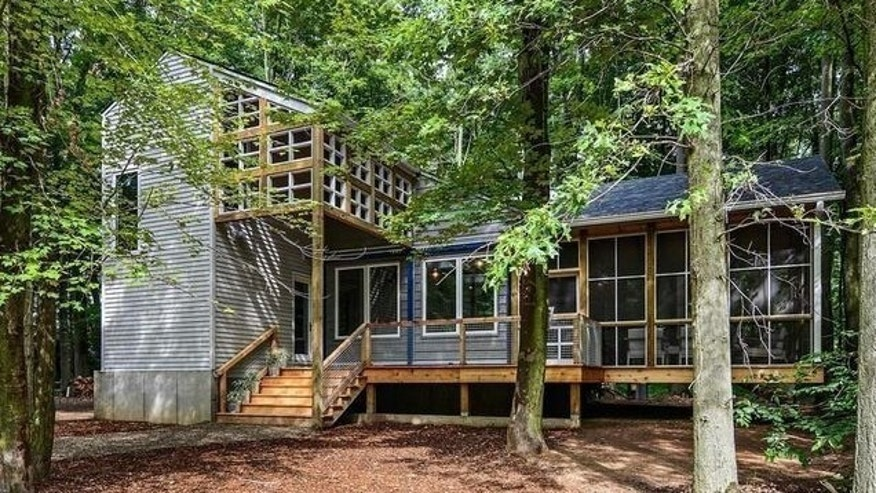 Like the look? Susan Fredman's shipping container home is available.