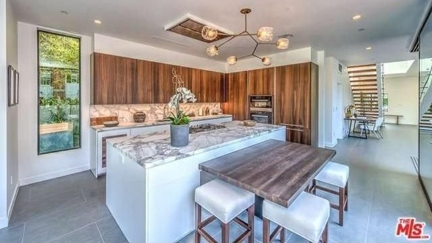 Ultra modern WeHo kitchen
