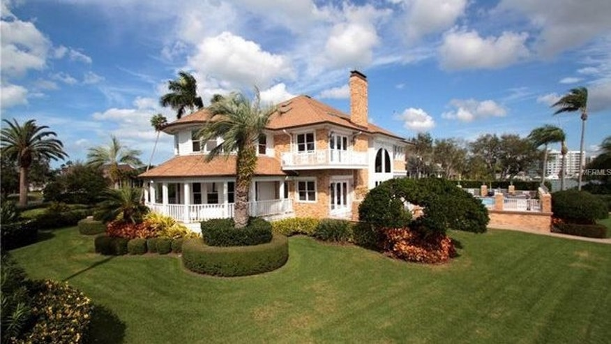 Racing legend Nigel Mansell's Florida home