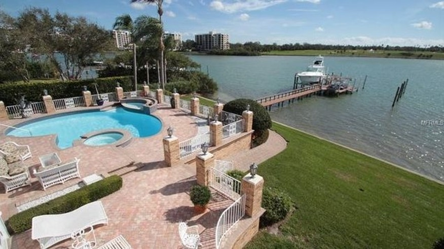 Mansell completely redid the backyard, adding a pool, spa and upgraded dock.