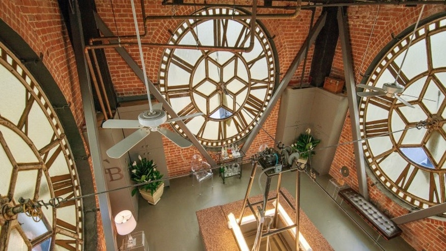 Inside the Clock Room