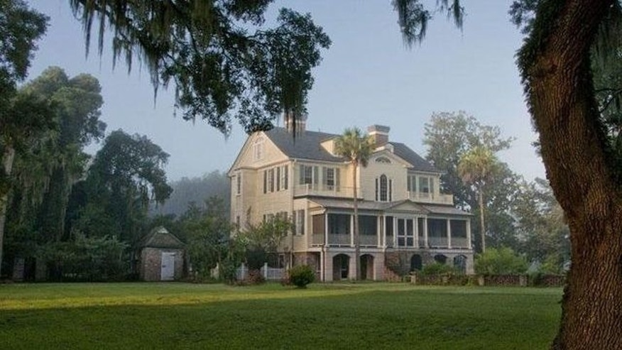 Seabrook mansion in South Carolina