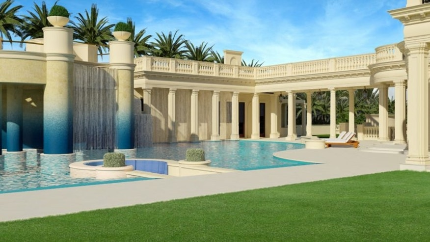 Le Palais Royal 4,500 square foot pool