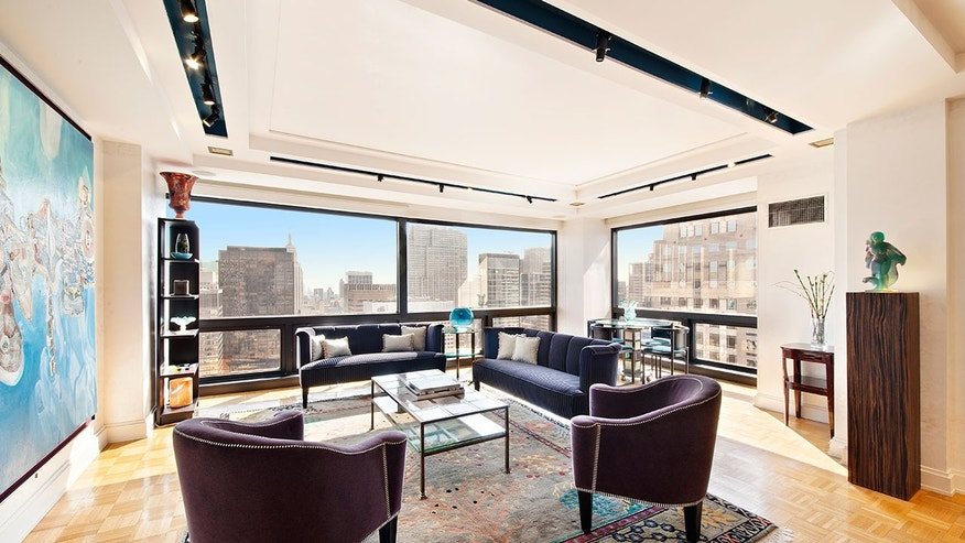 This two-bedroom condo at Trump Tower originally listed at $4,395 million was recently sold by Brett Miles of Douglas Elliman for $4 million.