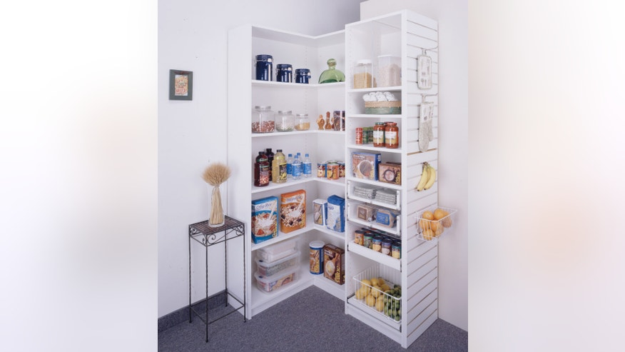 Group like items for a streamlined pantry